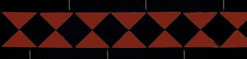 Klinkerfris - Winckelmans klassisk röd/svart