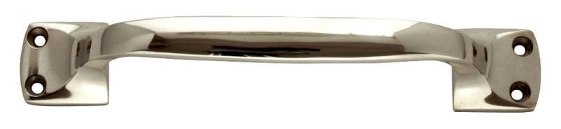 Pull handle - Nickel 18 cm