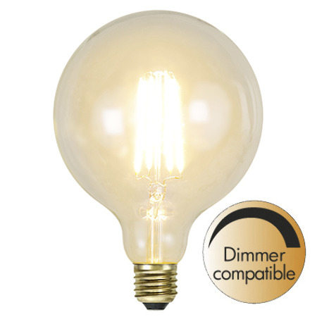 LED bulb - Globe 125 mm 320 lm - old fashioned style - vintage interior - classic style - retro