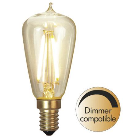 LED-lampa - Sekelskifte mini E14 38 mm 120 lm - sekelskifte - gammaldags inredning - retro - klassisk stil