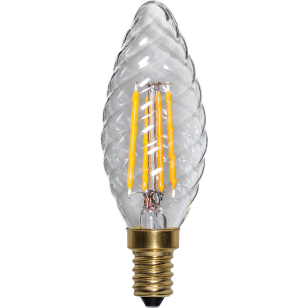 LED bulb - Twisted E14 35 mm 350 lm - old fashioned style - vintage interior - classic style - retro