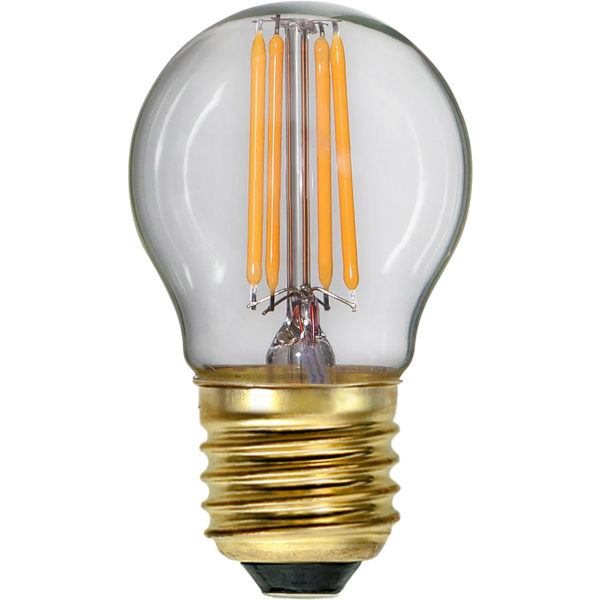 LED bulb - Small globe 45 mm 350 lm - old fashioned style - vintage interior - classic style - retro
