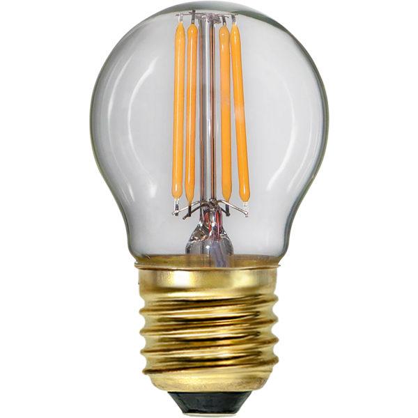 LED-lampa - Liten rund 45 mm 350 lm - sekelskifte - gammaldags inredning - retro - klassisk stil