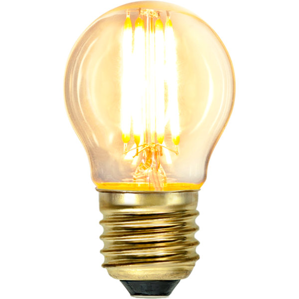 Led Bulb Small Globe Warm Glow 350 Lm
