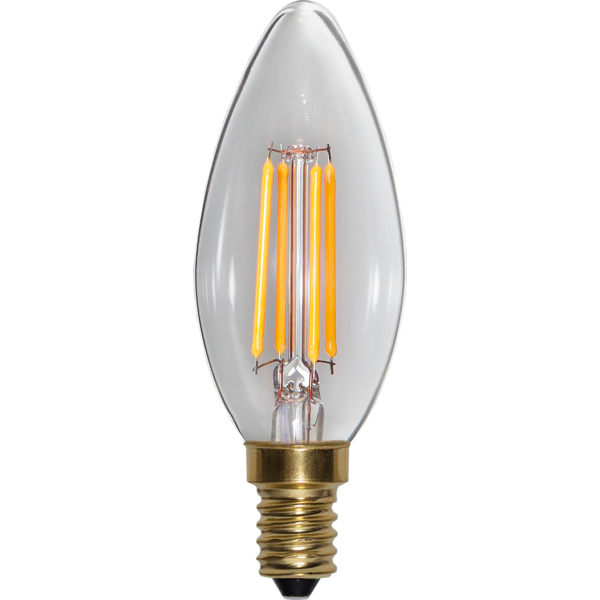 LED bulb - Chandelier E14 35 mm 350 lm - old fashioned style - vintage interior - classic style - retro