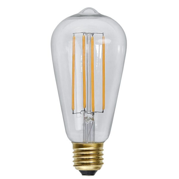 LED bulb - Edison 64 mm 320 lm - old fashioned style - vintage interior - classic style - retro
