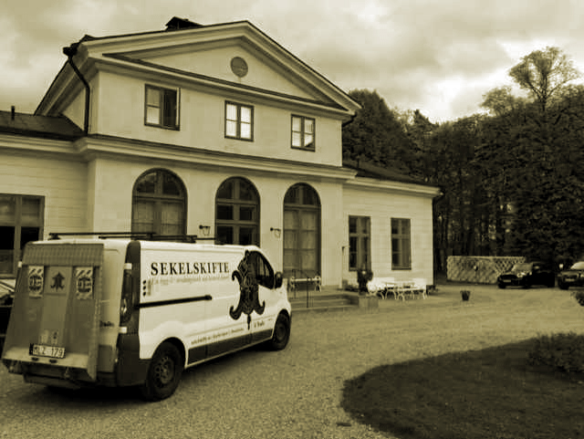 World wide delivery - Sekelskifte