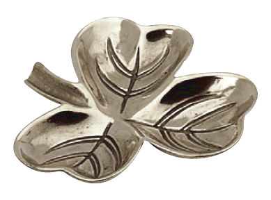 Small dish - Trefoil silver