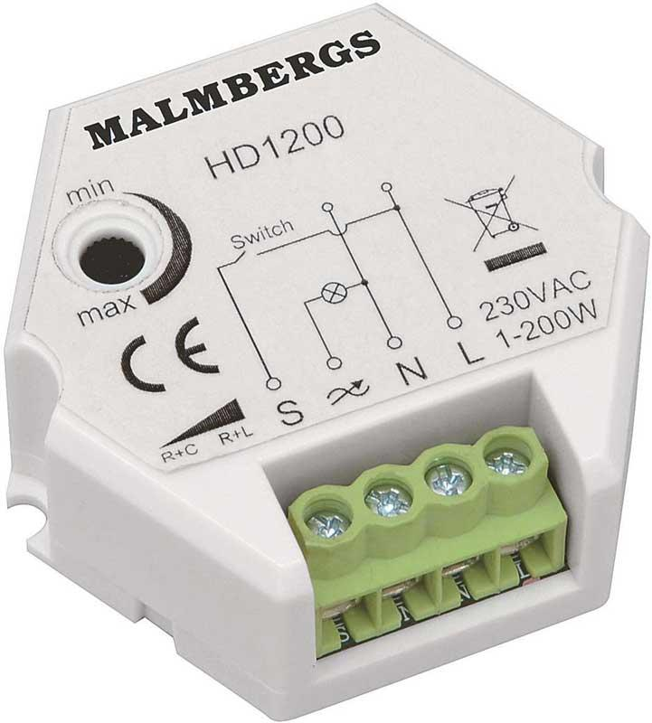 Malmbergs universal dimmer