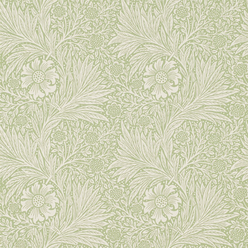William Morris & Co. Wallpaper - Marigold Artichoke - old style - classic interior - vintage style