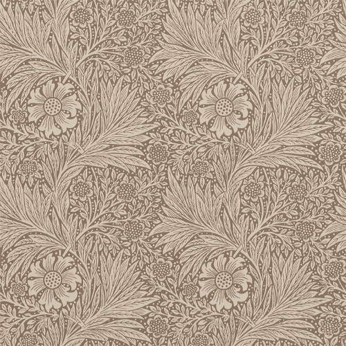 William Morris & Co. Tapet - Marigold Bullrush - sekelskifte - gammal stil - retro