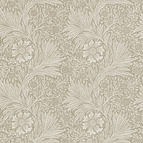 William Morris & Co. Wallpaper - Marigold Linen - old style - classic interior - vintage style