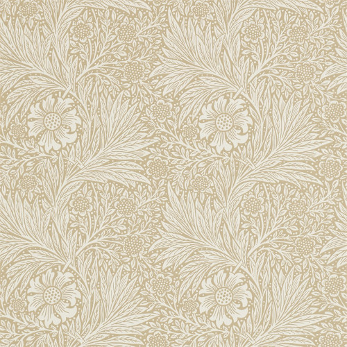 William Morris & Co. Tapet - Marigold Manilla - sekelskifte - gammal stil - retro