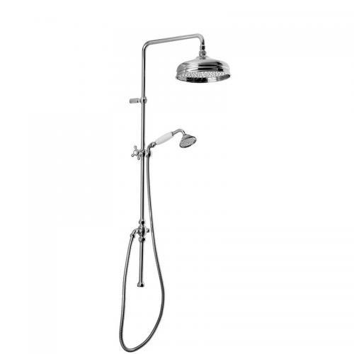 Shower Kit - Maxima Colonial without shower valve, chrome