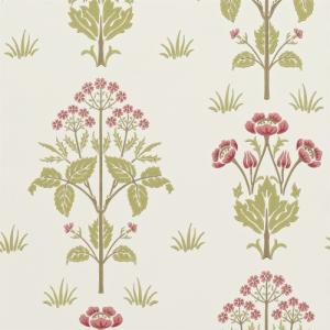 William Morris & Co. Tapet - Meadow Sweet Rose/Olive