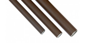 Metal tubes for surface installation - aged metal