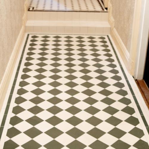 Klassiskt klinger - Victorian Floor Tiles - sekelskifte - gammal stil - klassisk inredning - retro
