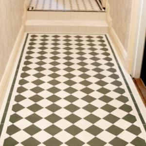 Victorian Floor Tiles - old style - vintage style - classic interior - retro