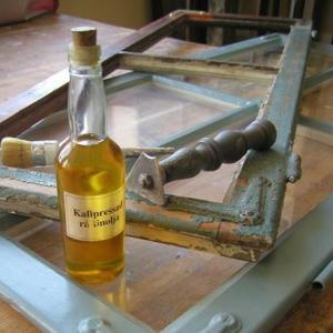 Linolja - sekelskifte - gammaldags inredning - retro - klassisk inredning