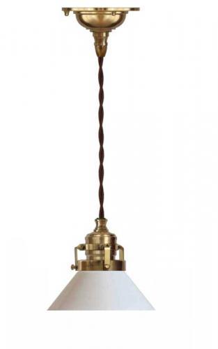 Celing Lamp - Craftmans cord pendant small shade