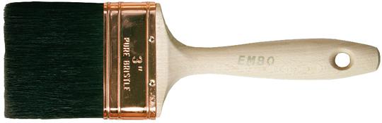 Varnish brush - Embo natural bristles 37 mm - old fashioned style - vintage interior - retro