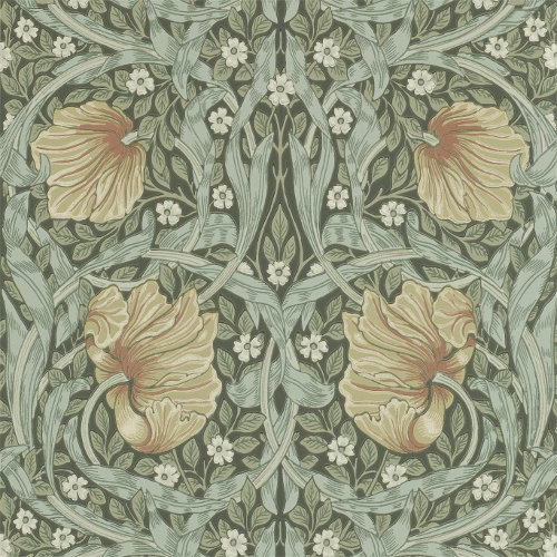 William Morris & Co. Wallpaper - Pimpernel Bayleaf/Manilla