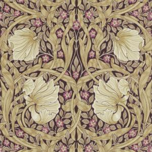 William Morris & Co. Wallpaper - Pimpernel Fig/Sisal