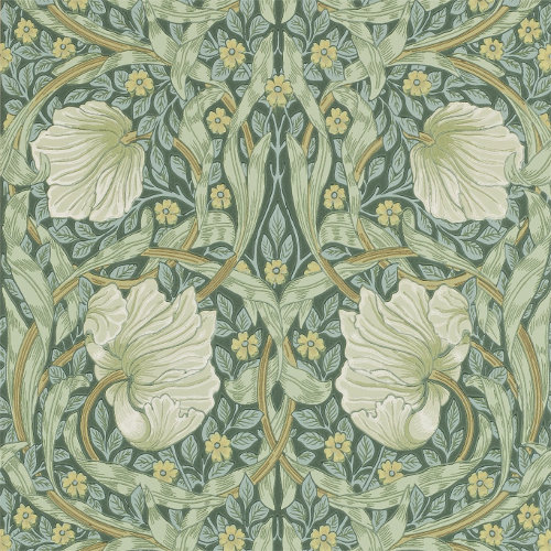 William Morris & Co. Tapet - Pimpernel Privet/Slate