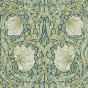 William Morris & Co. Wallpaper - Pimpernel Privet/Slate
