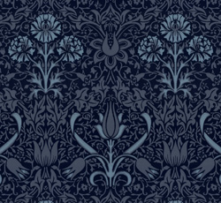 Wallpaper - Florian dark blue/blue