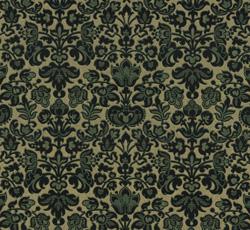 Wallpaper - Kapten Jonsson green/gold