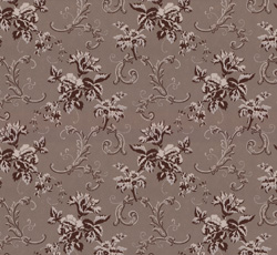 Wallpaper - Hovdala blomma grey/brown