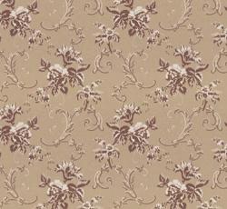 Wallpaper - Hovdala blomma beige/champagne
