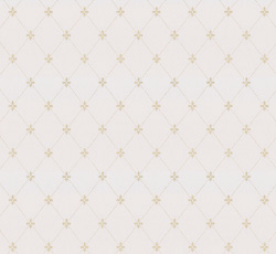 Wallpaper - Filipsborg white/gold