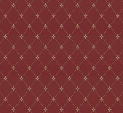 Wallpaper - Filipsborg red/gold - old fashioned style - vintage interior - retro - classic style