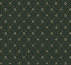 Wallpaper - Filipsborg dark green/gold