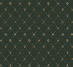 Wallpaper - Filipsborg dark green/gold