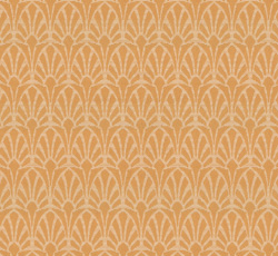 Wallpaper - Jugend white/yellow - old style - vintage style - classic interior - retro