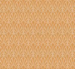Lim & Handtryck Tapet - Jugend vit/gul - sekelskifte - gammaldags stil - klassisk inredning - retro