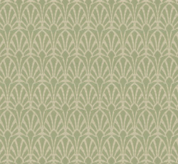 Wallpaper Lim Handtryck Jugend White Green Classic Style