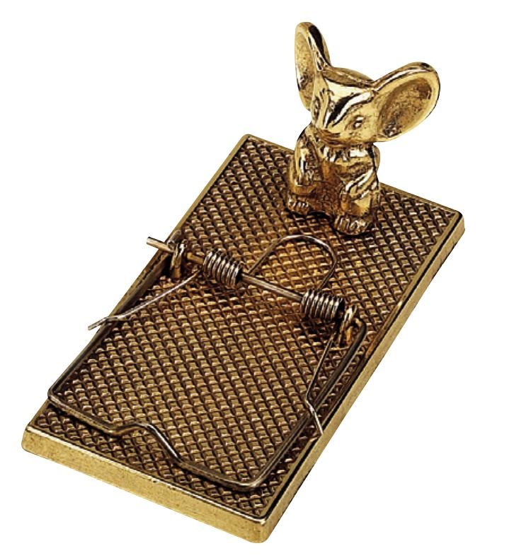 Paper fastener - Mousetrap brass
