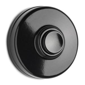 Bell Push - Round bakelite - old fashioned style - vintage interior - classic style - retro