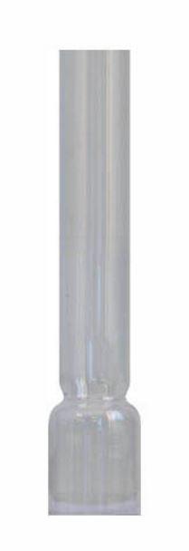 Round burner chimney - 6^34mm/17cm