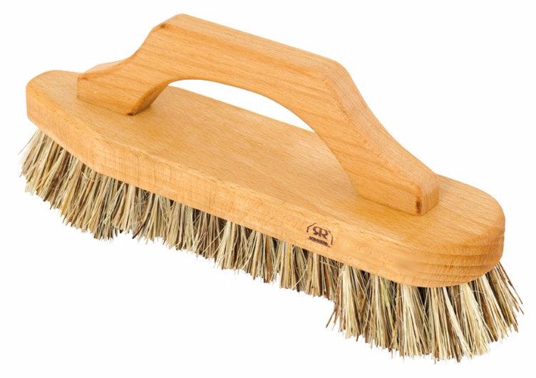 Scrub brush with handle - Beechwood