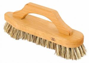 Scrub brush with handle - Beechwood