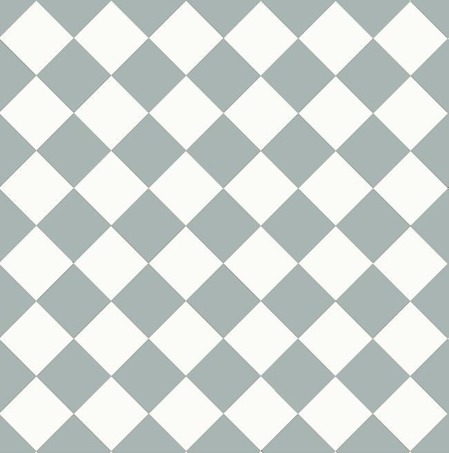 Floor tiles - 10 x 10 cm blue/white