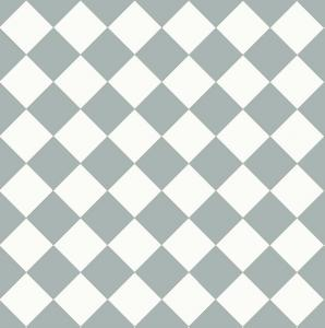 Floor tiles - 10 x 10 cm blue/white