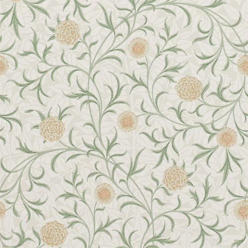 William Morris & Co. Wallpaper - Scroll Thyme/Pear