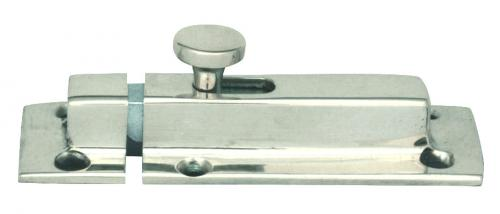 Slide latch - Springy fastener, chrome