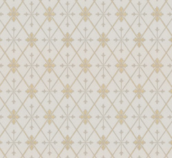 Wallpaper - Skogshyddan beige/gold